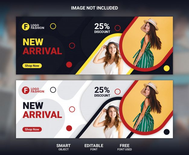 Fashion Facebook Cover Banner Template Facebook Cover Banner Template Facebook Cover Template