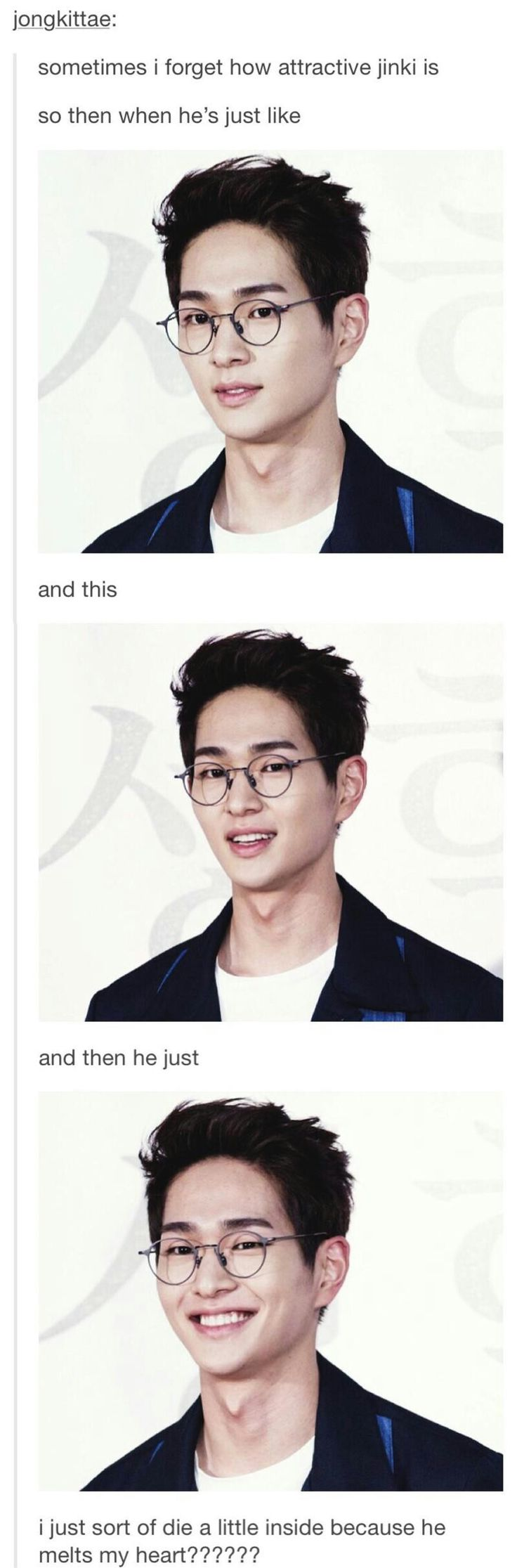Onew I'm going to marry you .... that's it.