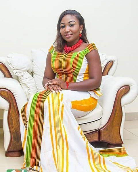 Colorful Kente Dress Style For Wedding Kente Styles Kente Fashion