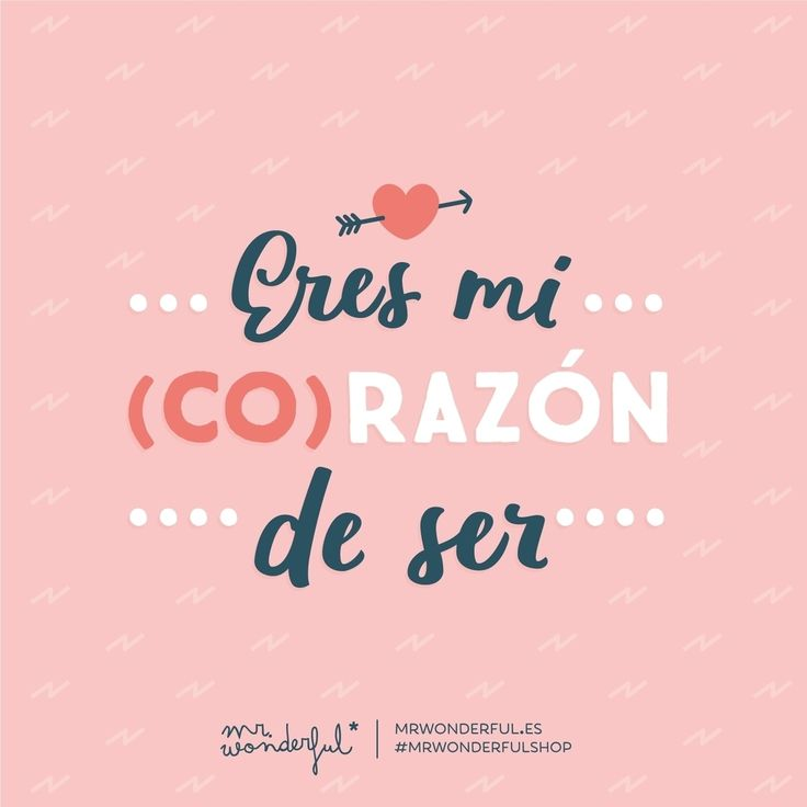 Eres mi persona favorita en el mundo entero. ¡Gracias! You are the reason my heart beats so fast. You are my favourite person in the whole wide world. Thank you! #mrwonderfulshop #quotes