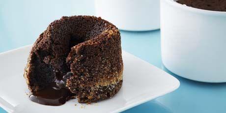 Molten Centre Chocolate Cake