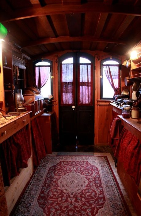 The Little Green Caboose - tiny house conversion.