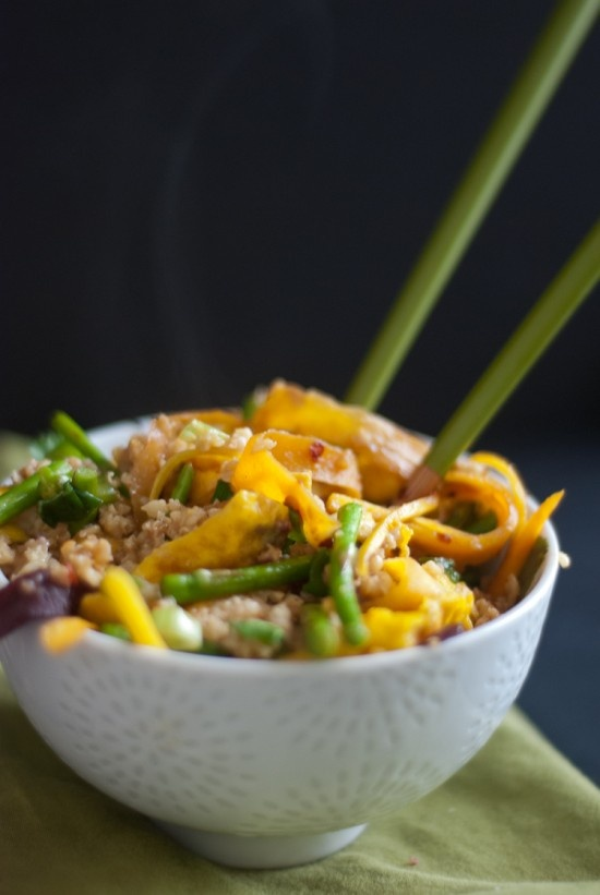 Vegetarian Stir-Fried Millet | Recipe | Veggies, Stir Fry and Eggs