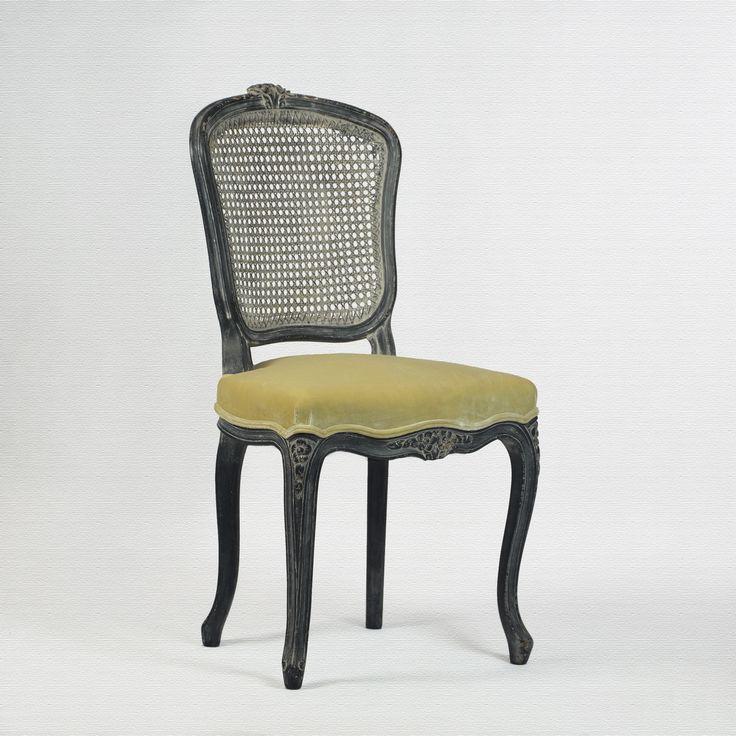 ch18 chaise louis xv cannee en