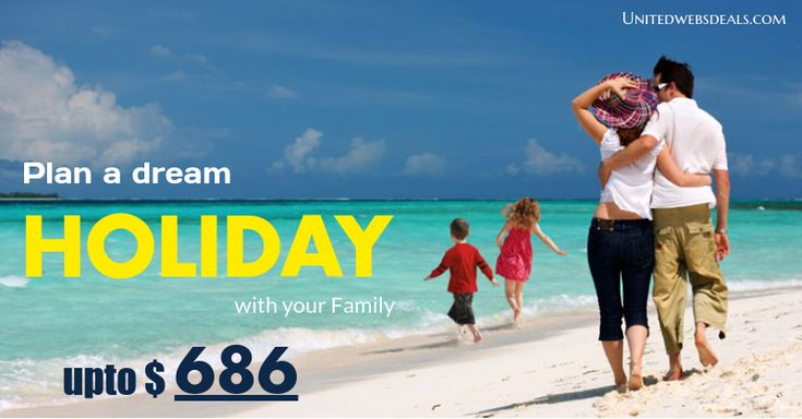 Plan a dream holiday with your family. Plan this vaction with your family.Compare and Book Cheap flight tickets to your destinations and get discount up-to 50%-70% on your every flights reservation.