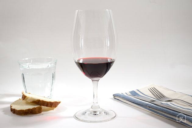 The Best Wine Glasses | The Riedel Ouverture Magnum effectively presents red, white, bubbly, and even spirits. A classic shape and a thin lip add to the experience. This glass is great for any weeknight dinner table.