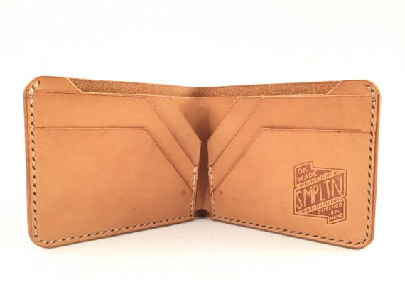 The Joe Bi-Fold by SimpletonGoods on Etsy Gives me an idea for a cloth wallet.