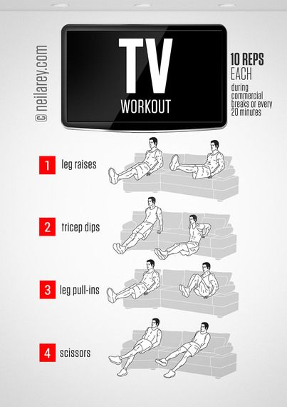 Get Fit While Watching TV | Neila Rey