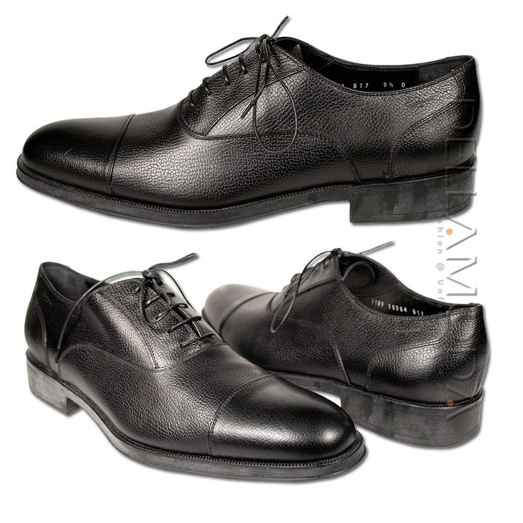 "Ferragamo Mens Shoes ""Rino"" Designer Italian Shoes for men Black (SF05) ""I had too"""