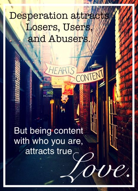 You May Be Attracting Losers, Users and Abusers and You Don't Even Know It. — Michelle Hollomon