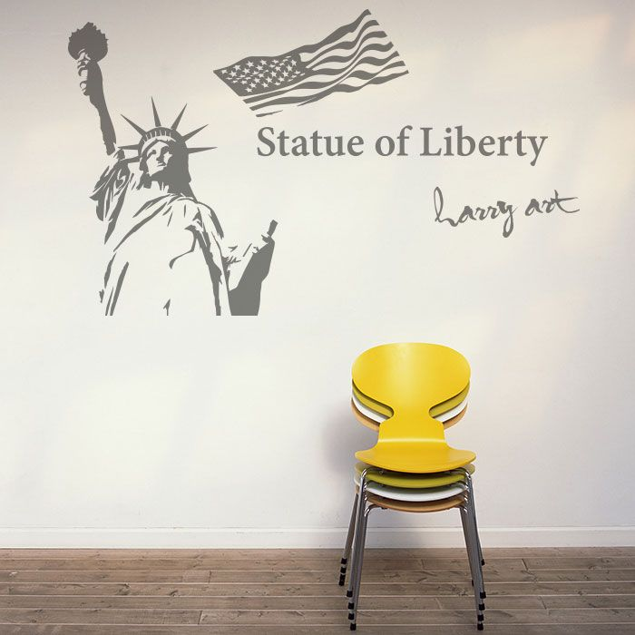 自由の女神(Statue of Liberty)#wallsticker#harrysticker