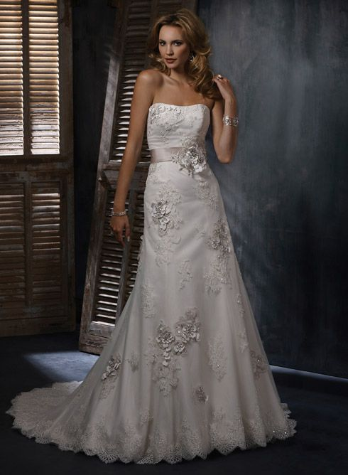 My wedding dress : Maggie Sottero - Geneva Bridal Gown. I would pick it over and over again!