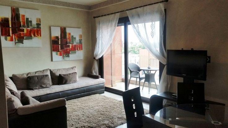 Joli appartement fonctionnel et très bien situé en centre ville Marrakech