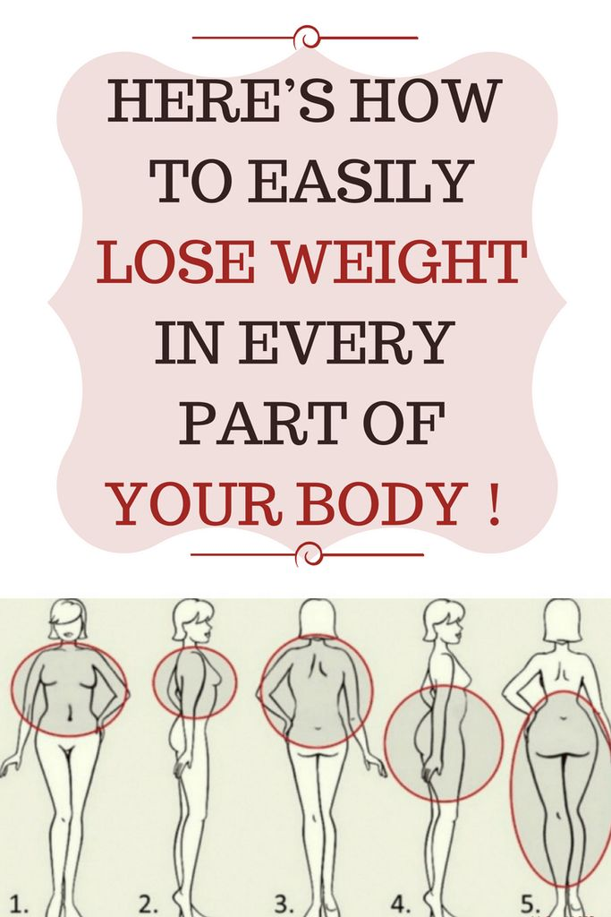 HERE'S HOW EASILY TO LOSE WEIGHT IN EVERY PART OF YOUR BODY !♫