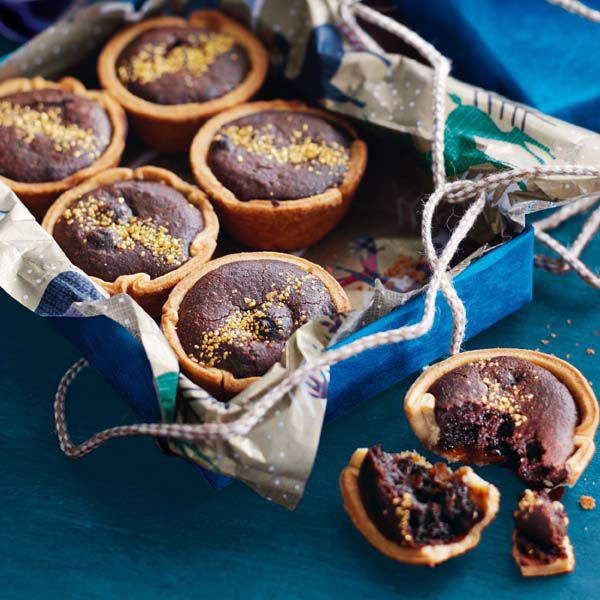 Paul A Young's festive hybrid dessert recipe is a cross between a classic boozy mince pie and a gooey brownie.