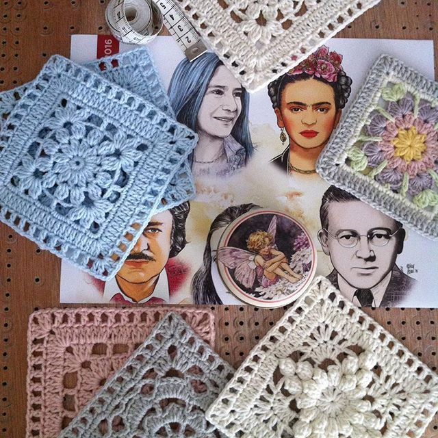 flzvarol crochet bobble square