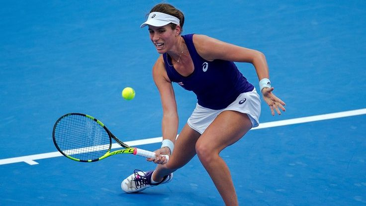 Johanna Konta mounted a fine recovery to win 1-6 6-3 6-2