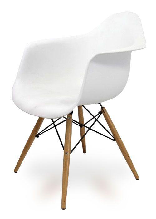Sillón Eames: Exquisito para escritorios o cabeceras de mesa
