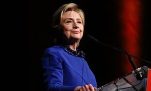 HRC: Hillary Clinton announced the launch with a playful tweet: 'The last few months, I've been reflecting, spending time with family – and, yes, taking walks in the woods.'