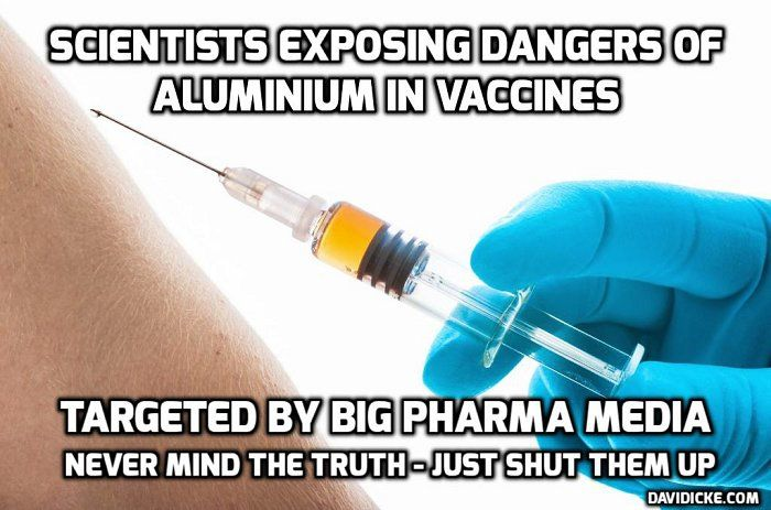 . Aluminium Adjuvants Have Never Been Approved For Use In Vaccinations