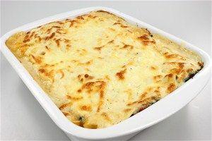 Kylling/spinat lasagne 4