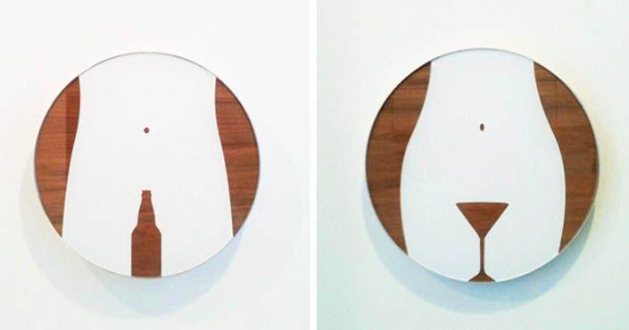 20 nápadov na kreatívne a zároveň vtipné označenia ženských a mužských toaliet. Najkreatívnejšie názvy, popisy, značky WC. Kreatívne označenia toaliet