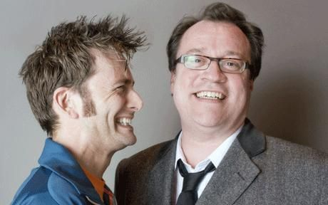 Happy Birthday, Russell T. Davies (a day late)!  Plus, a daily dose of Tennant.