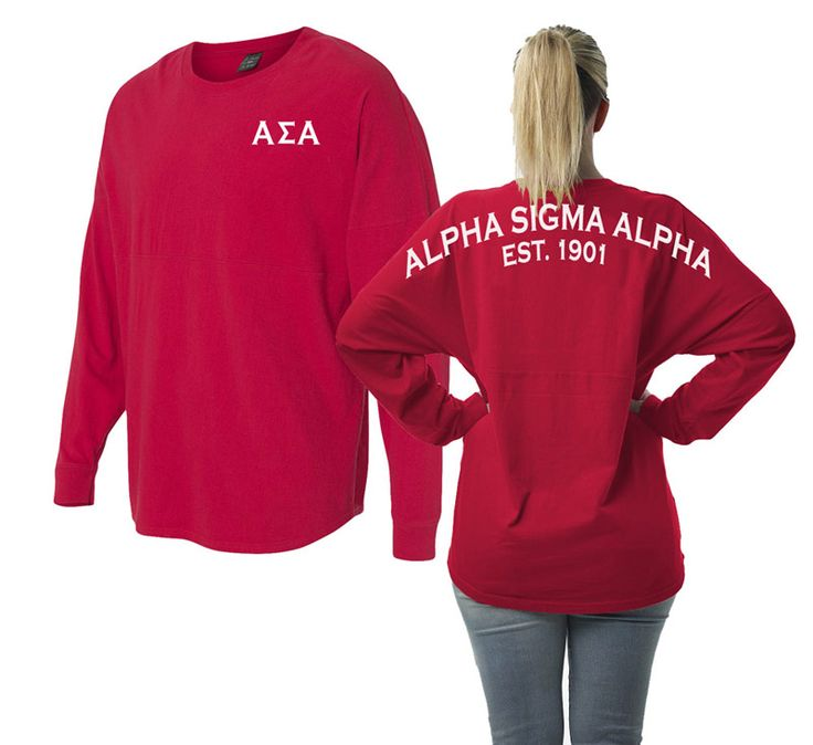 Alpha Sigma Alpha Game Day Billboard Jersey from GreekGear.com