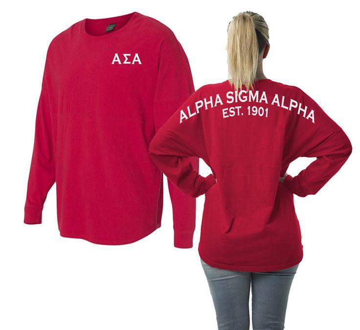 Alpha Sigma Alpha Game Day Billboard Jersey