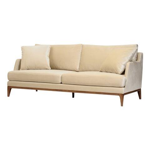 【W1715】レーゼン ソファ 2S シャンパンゴールドxブラウン(シャンパンゴールドxブラウン) Francfranc(フランフラン)公式サイト|家具、インテリア雑貨、通販