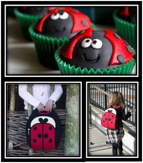 Cut as a Bug Life Style Encuéntralas en www.qipi.co  #Dabbawalla #ladybug #lunchbag #backpack