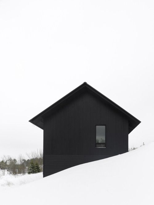 """ House in the snow"""