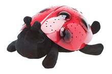 This Ladybug can shine 7 constellations onto your walls and glows in three different colors. Also comes with a storybook and adoption certificate. A great sleep aide for children. By Cloud B.    $28.95