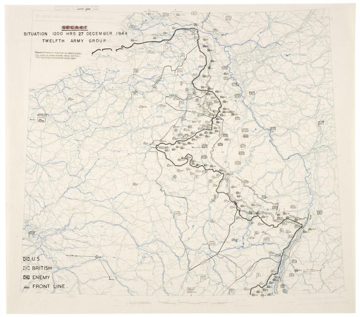 Completely surrounded in the town of Bastogne during the Battle of the Bulge, the 101st Airborne Division held off besieging German forces for eight days until their relief by General George Patton's Third Army on December 26, 1944. The break in...