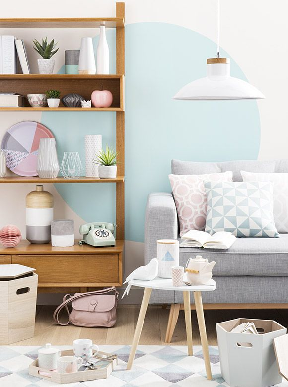 Tendance Déco Graphik Pastel. Pastel Living RoomScandi ...