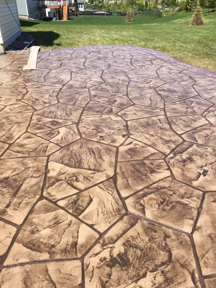 Images Of Stamped Concrete Patios: 1000+ Images About Stamped Concrete Patios On Pinterest