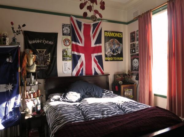 punk-rock-bedroom-english-flag                                                                                                                                                      More
