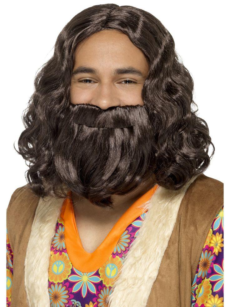 Jeesus-peruukki ja -parta