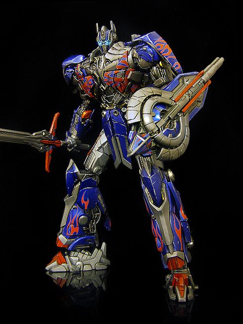 Age of Extinction : Optimus Prime by frenzy_rumble, via Flickr