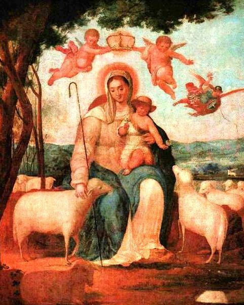 Juan Lovera ''La Divina Pastora''