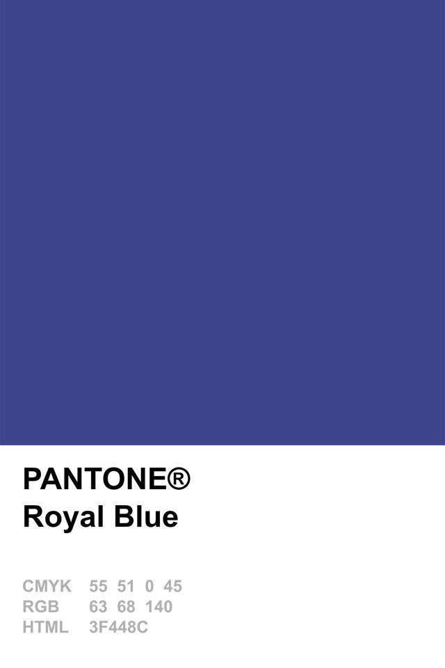 Pantone 2014 Royal Blue