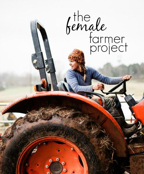 The Female Farmer Project on @pinktractorpin #pinktractor #agproud #womeninag