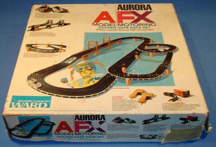 AFX slot cars.