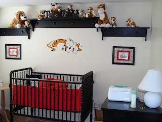 Brian and I have agreed: A girl gets the Oh the Places You'll Go nursery and a boy gets Calvin and Hobbes