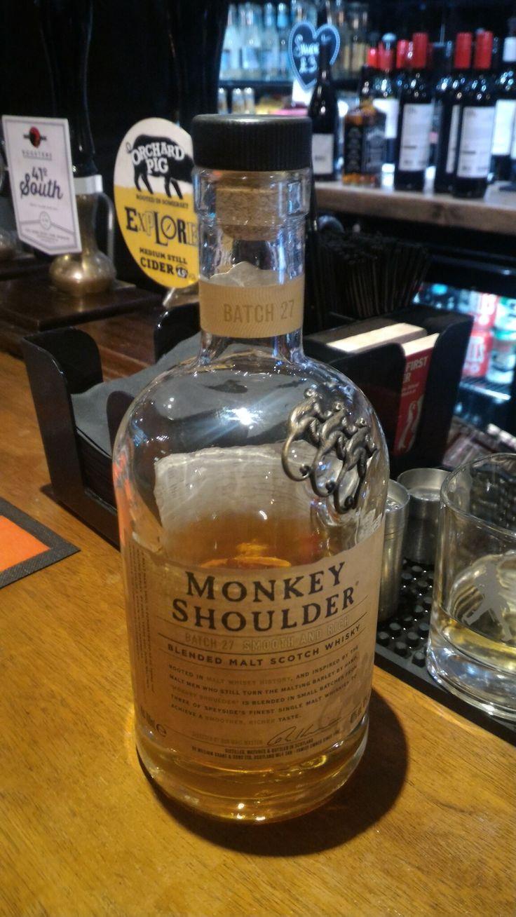 Monkey Shoulder, Batch 27, Blended Malt, Scotland.