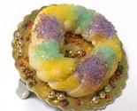 Mardi Gras King Cake ring from Etsy