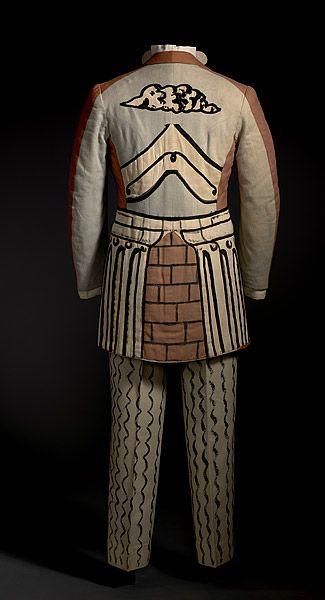de CHIRICO , Giorgio LES BALLETS RUSSES DE SERGE DIAGHILEV YOUKINE , A |Costume for a male guest
