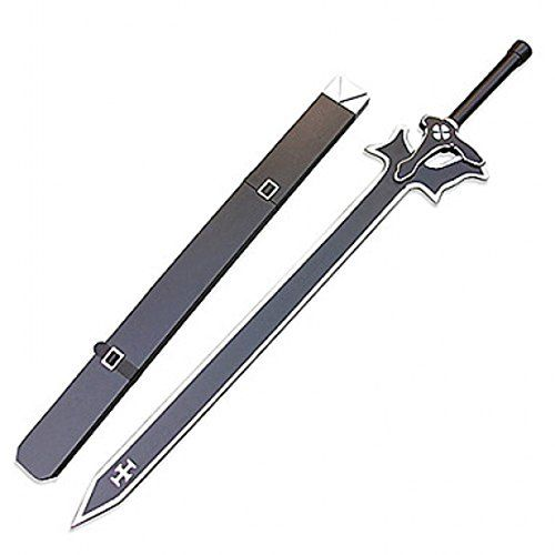 "Sword Art Online: Kirito Elucidator 43"" Larp Foam Replica Sword Topswords http://www.amazon.ca/dp/B00Q3JEKT4/ref=cm_sw_r_pi_dp_OVjivb1MV5ZNS"