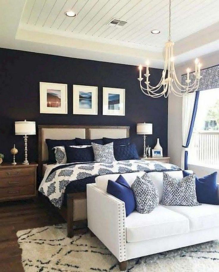 Hamptons Inspired Luxury Home Master Bedroom Robeson: Hamptons Style Bedroom Furniture #Masterbedroomideasrustic