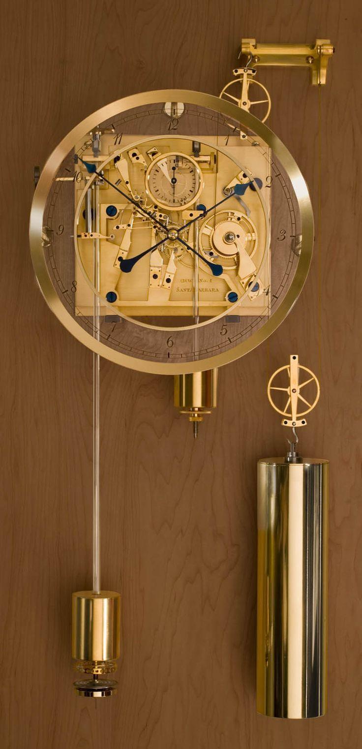 Fine wall clock by by David Walter